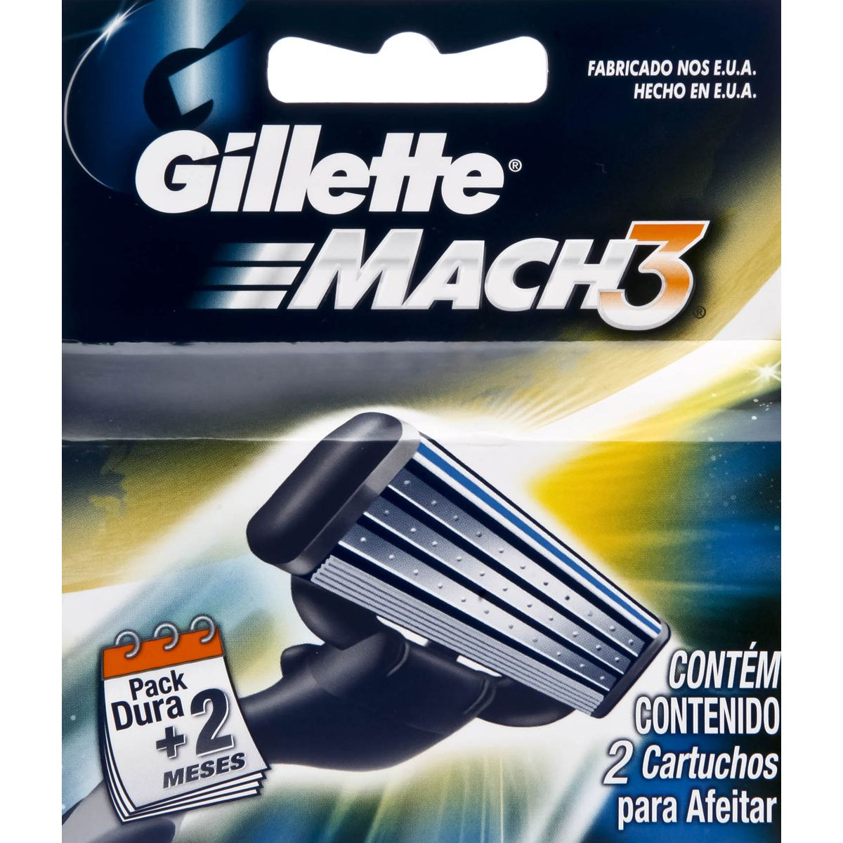 Cartucho Gillette Match 3 2X12It