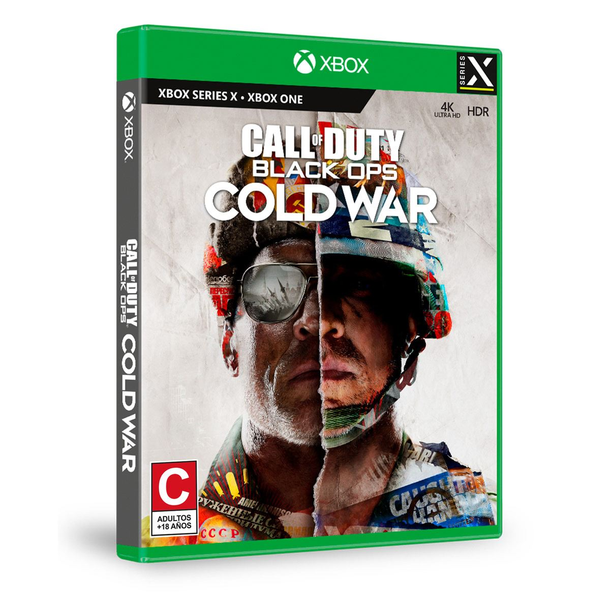 Xbox One Call Of Duty Black Ops Cold War