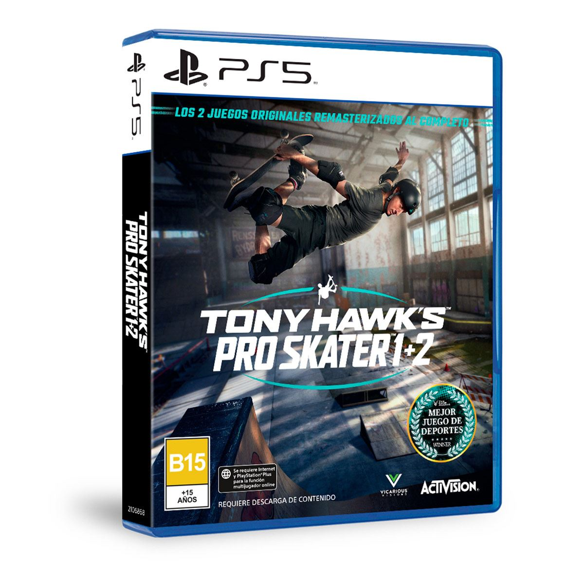 PS5 Tony Hawk's Pro Skater 1+2