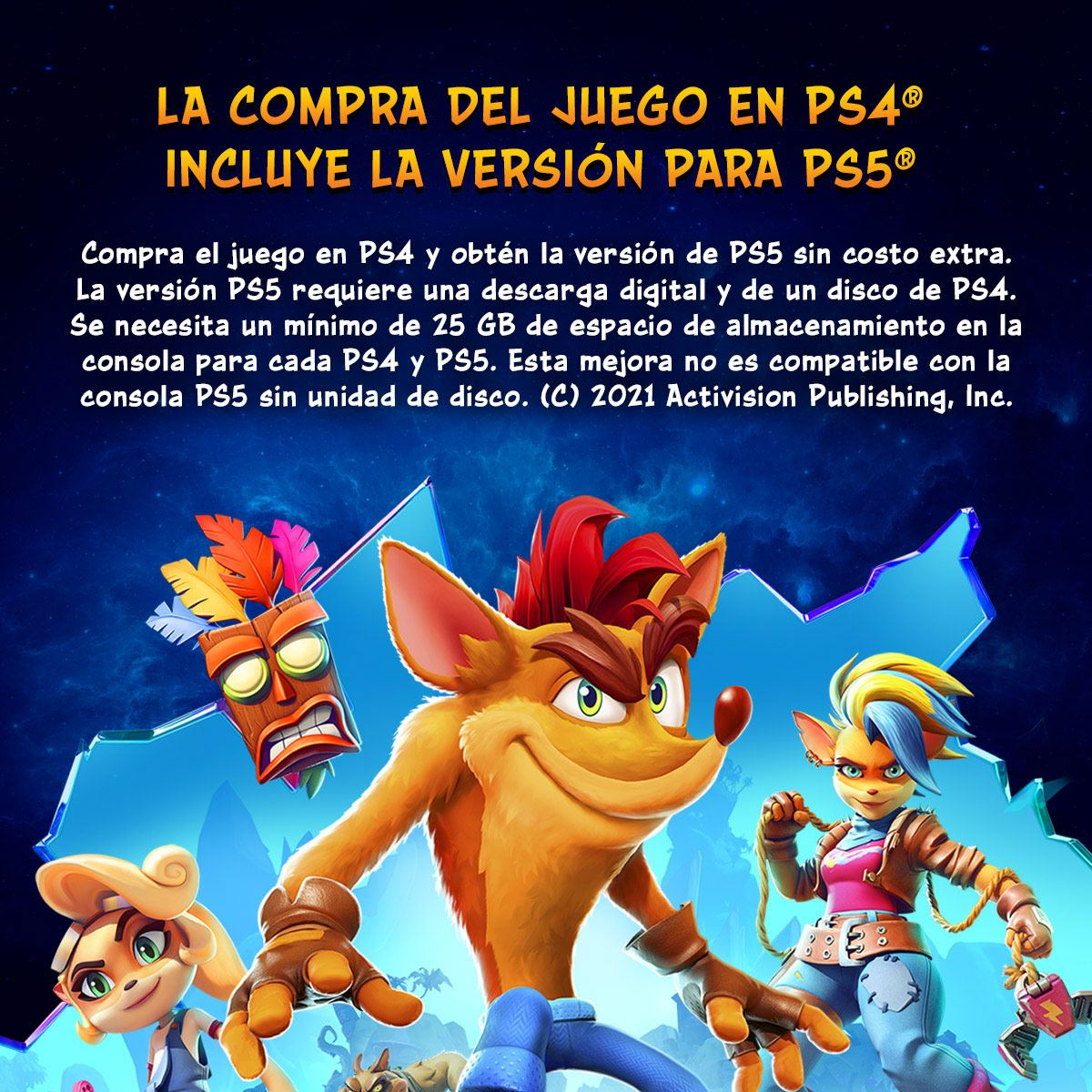 Crash Bandicoot 4 Its About Time PlayStation 4