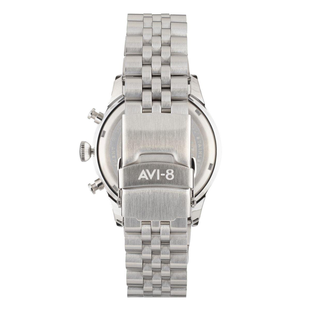 Reloj Avi-8 Av407622 para Caballero Plateado