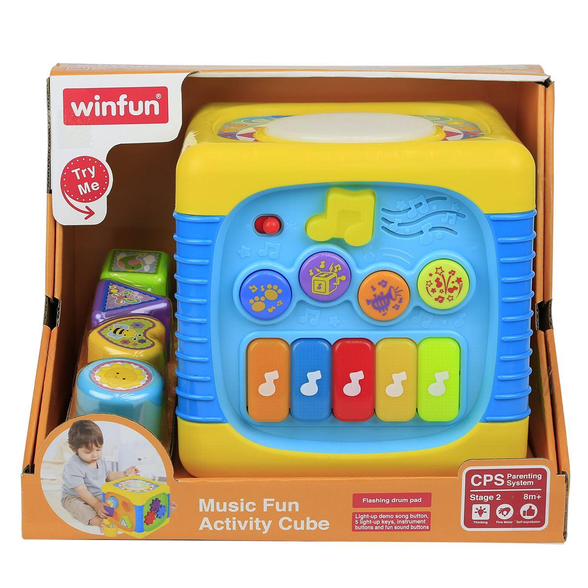 Cubo Musical Winfun