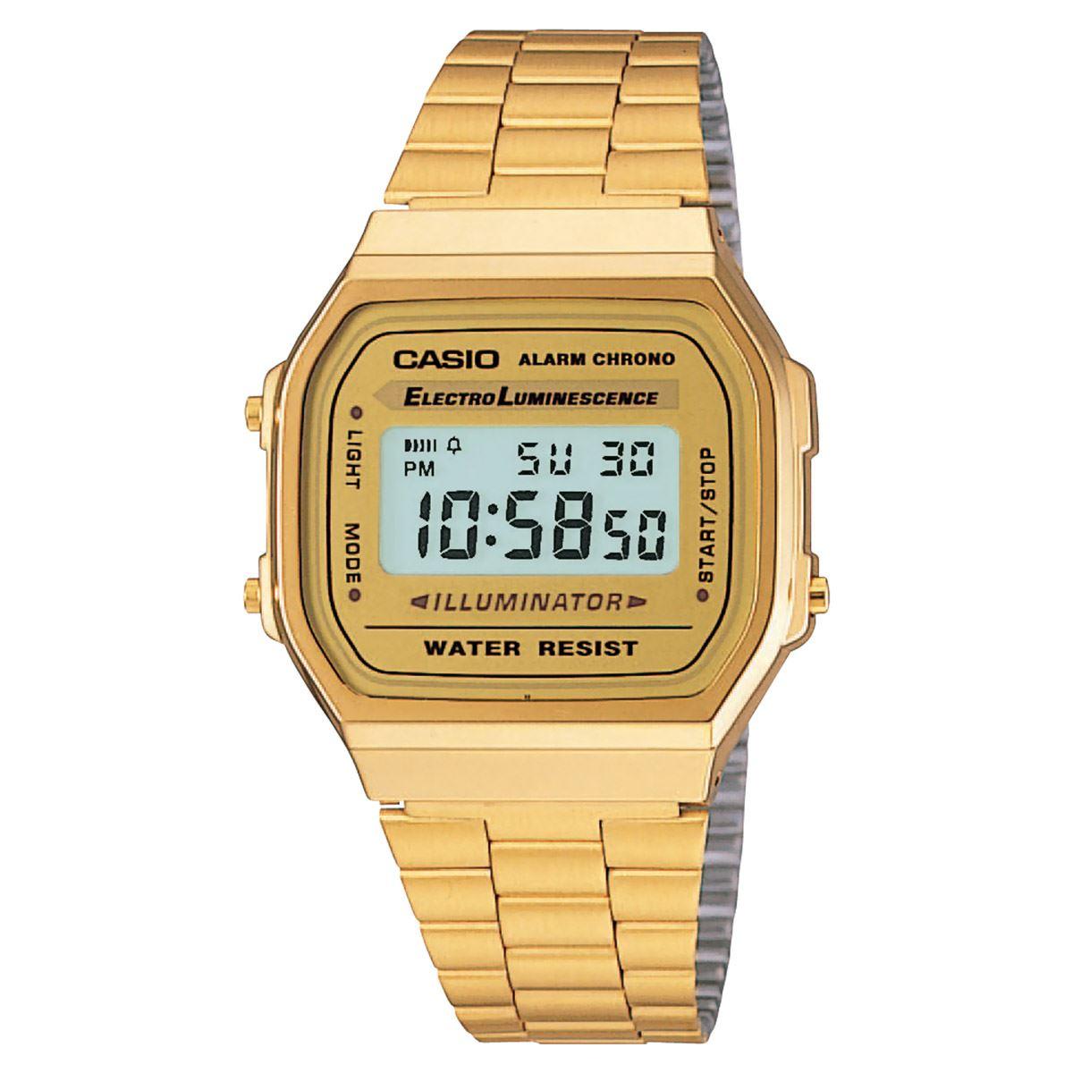 9b3c4400d106 Reloj Casio A168WG-9VT Unisex Vintage