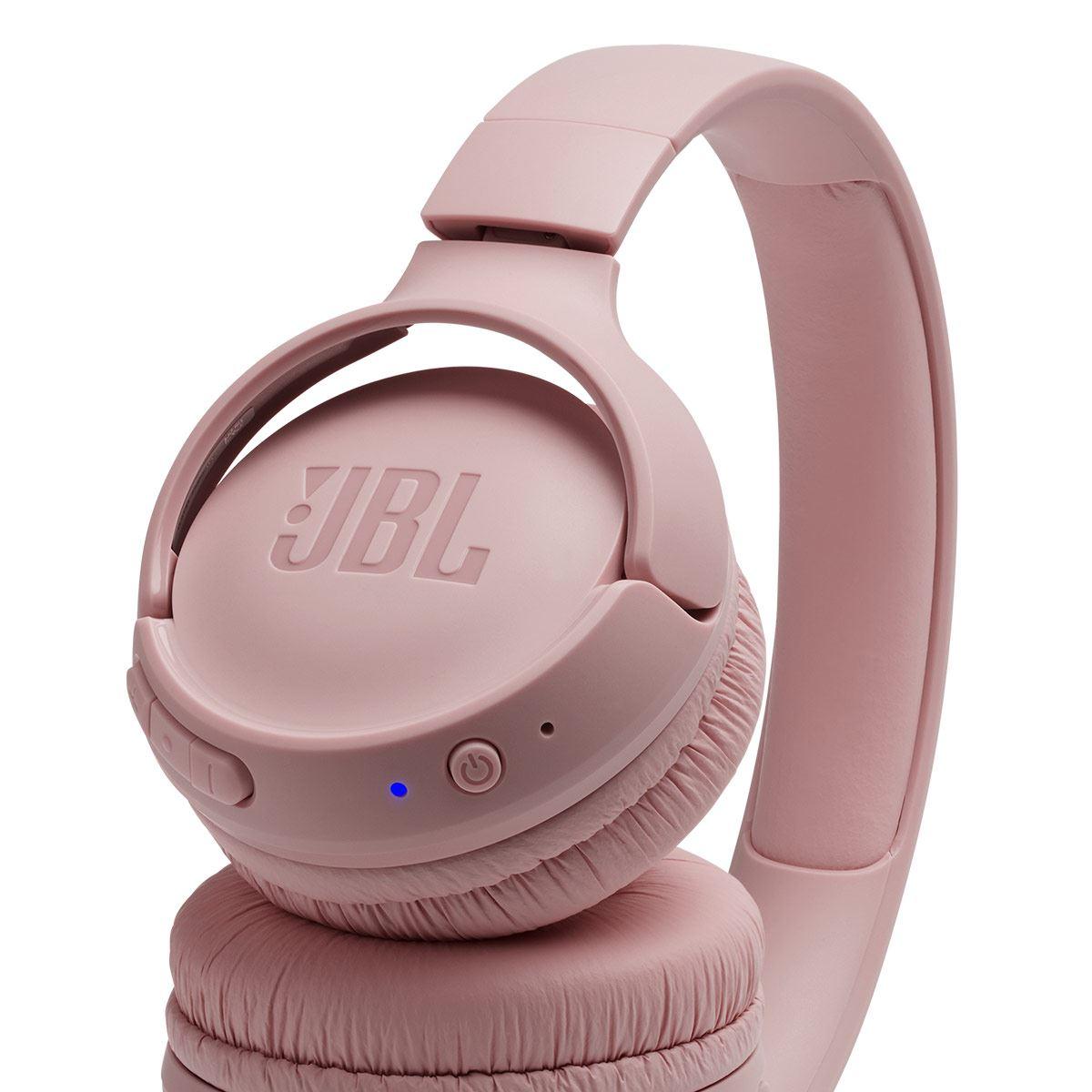 Audífonos Tune 500 Bluetooth Rosa JBL