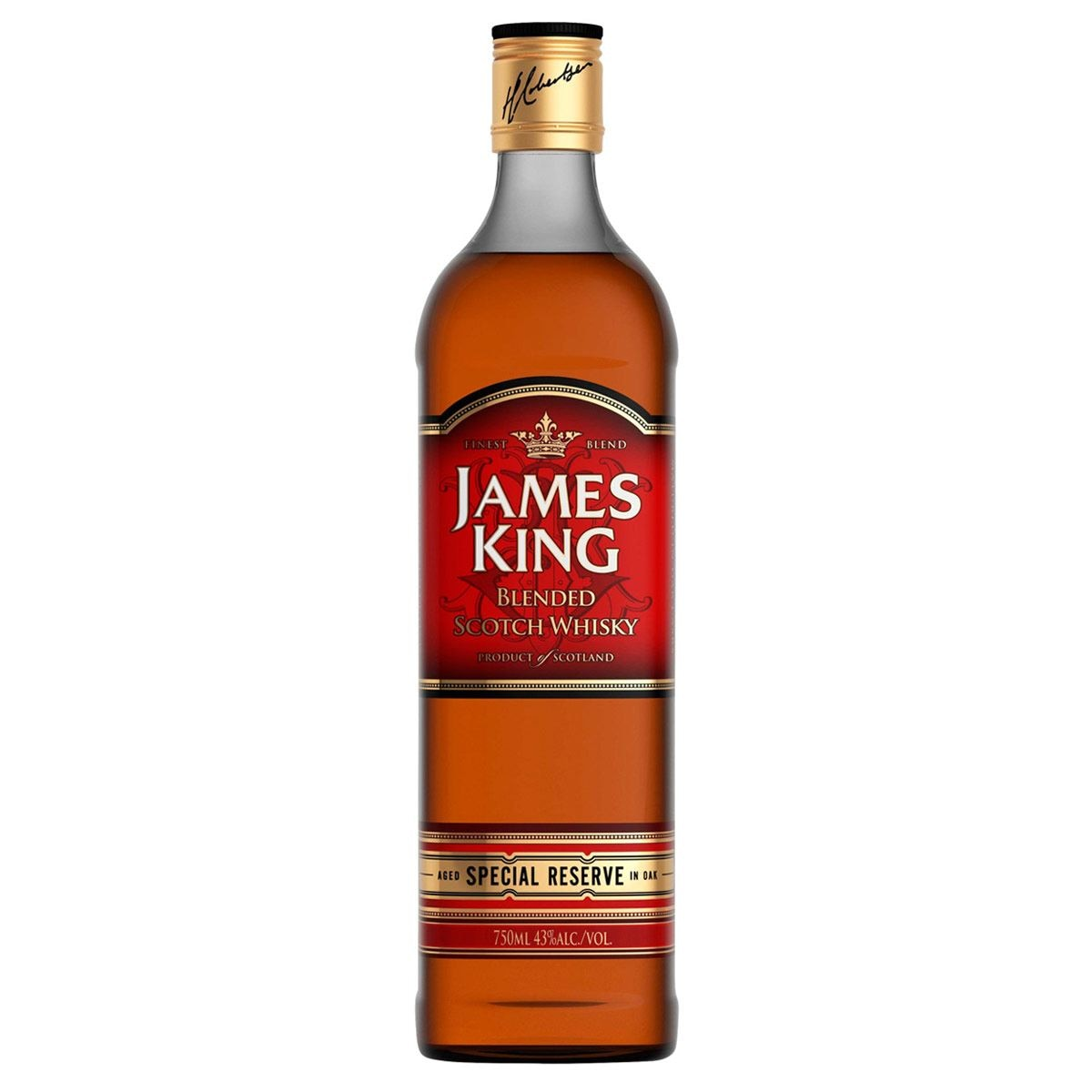 WHISKY ESCOCES JAMES KING RED LABEL