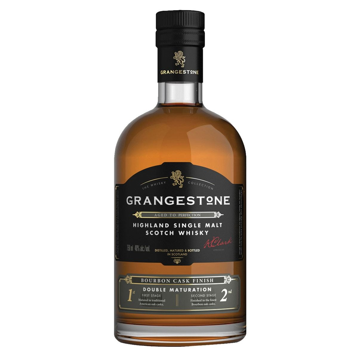 WHISKY ESCOCES SINGLE MALT GRANGESTONE