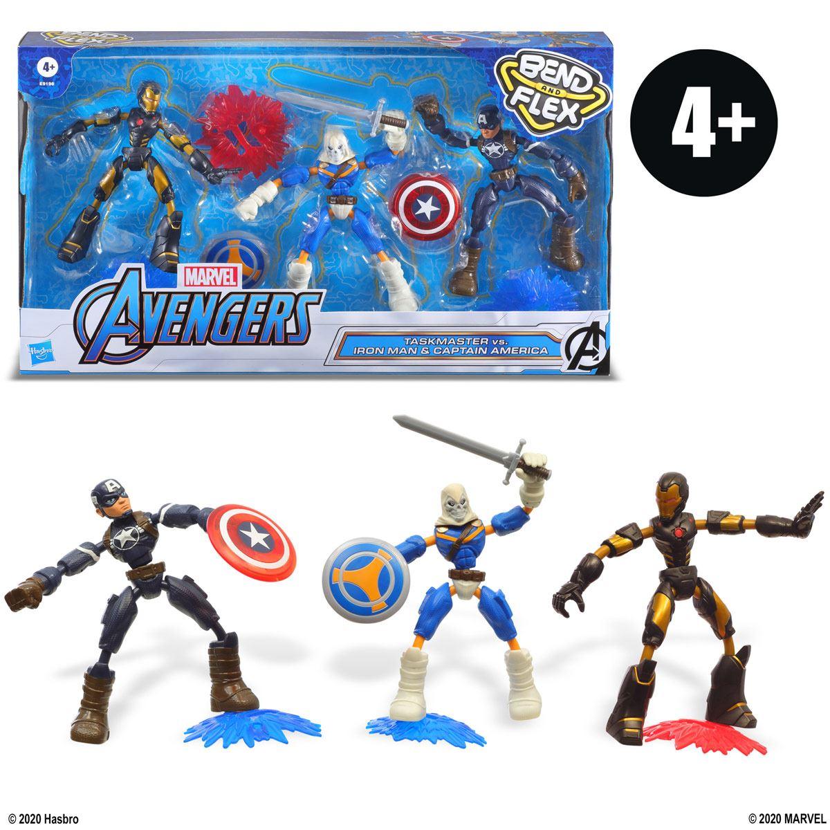 Marvel Avengers Bend and Flex - Empaque múltiple