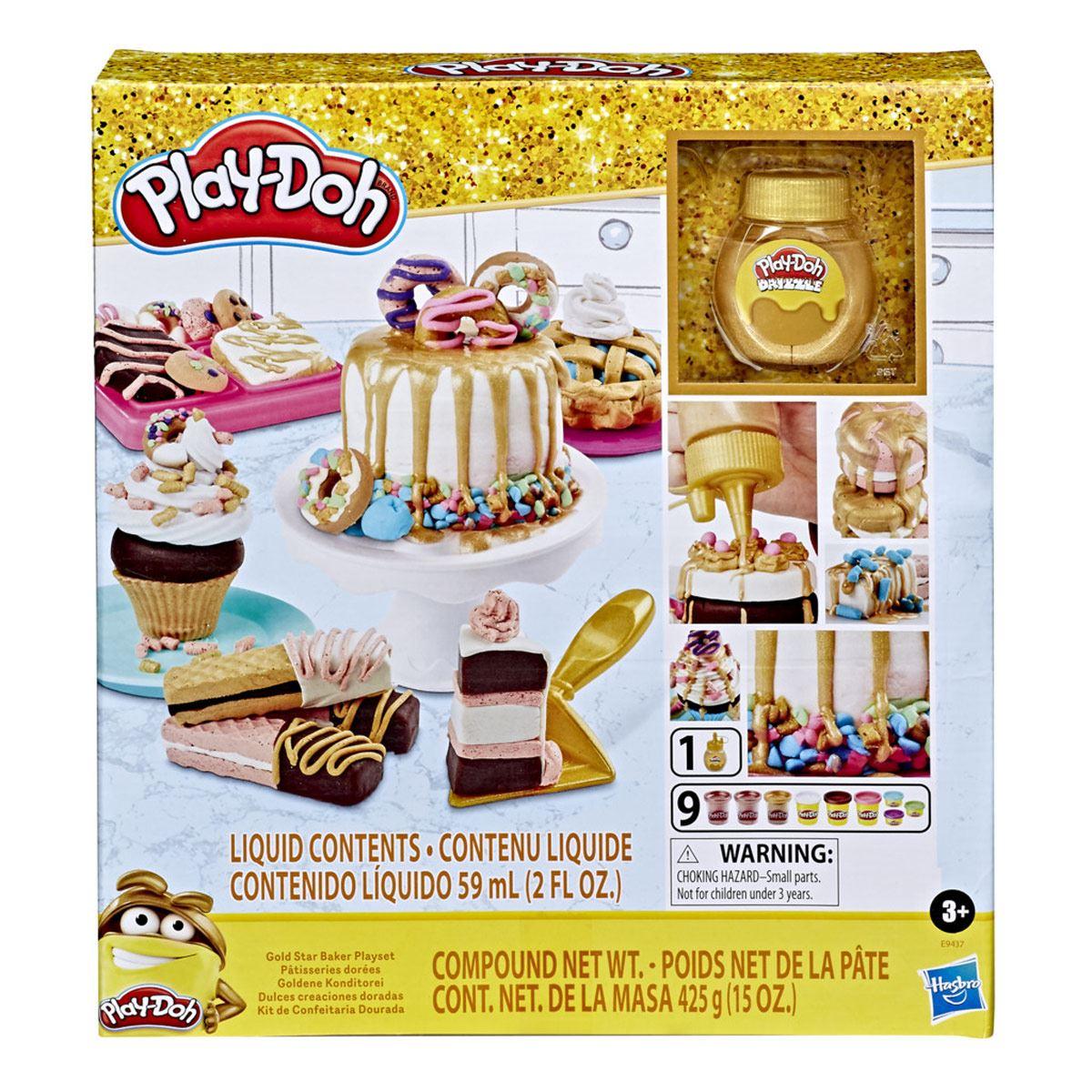 Play-Doh - Dulces creaciones doradas
