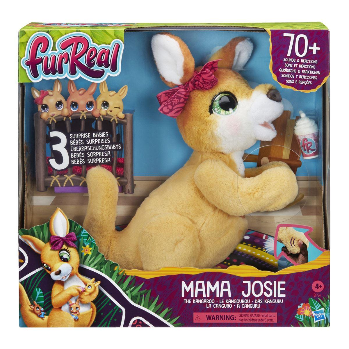 furReal Mama Josie: La canguro - Mascota de juguete interactiva