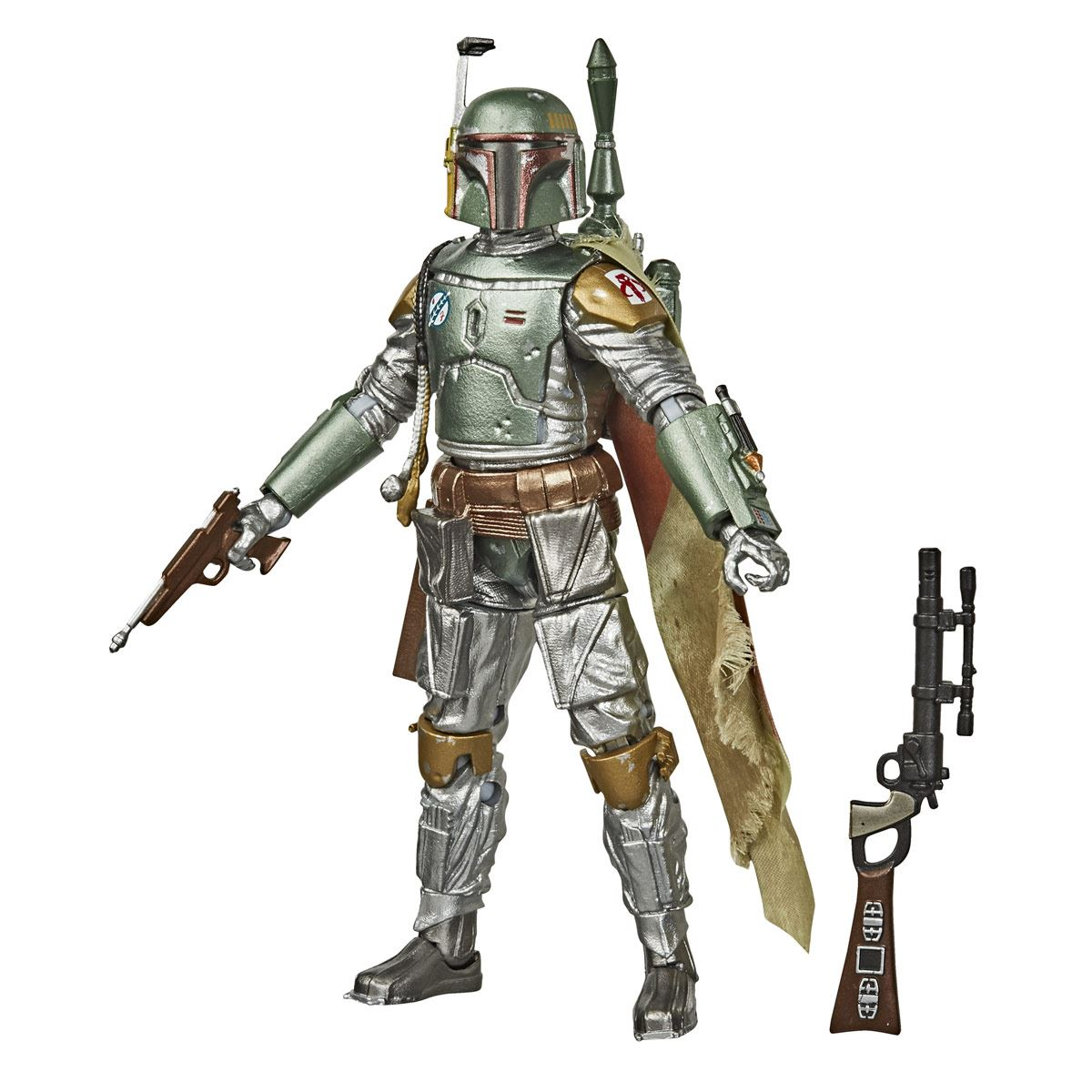 Star Wars The Black Series - Colección Grafito - Figura de Boba Fett a escala de 15 cm