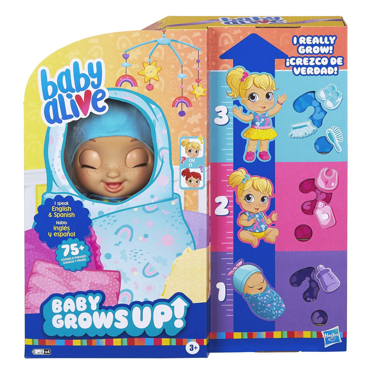 Baby Alive Baby - Baby Grows Up (Feliz) - Happy Hope o Merry Meadow