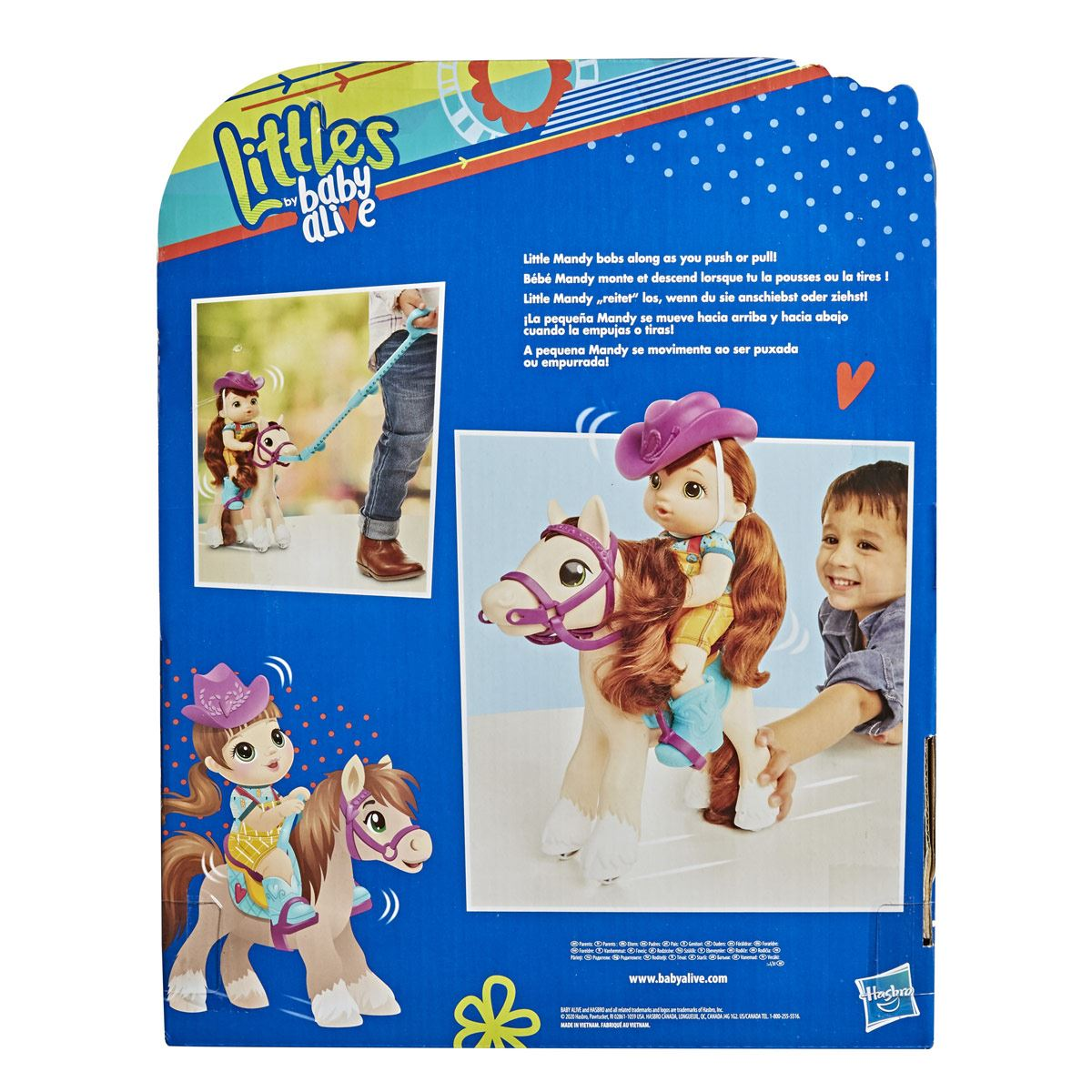 Littles by Baby Alive - Paseo en pony