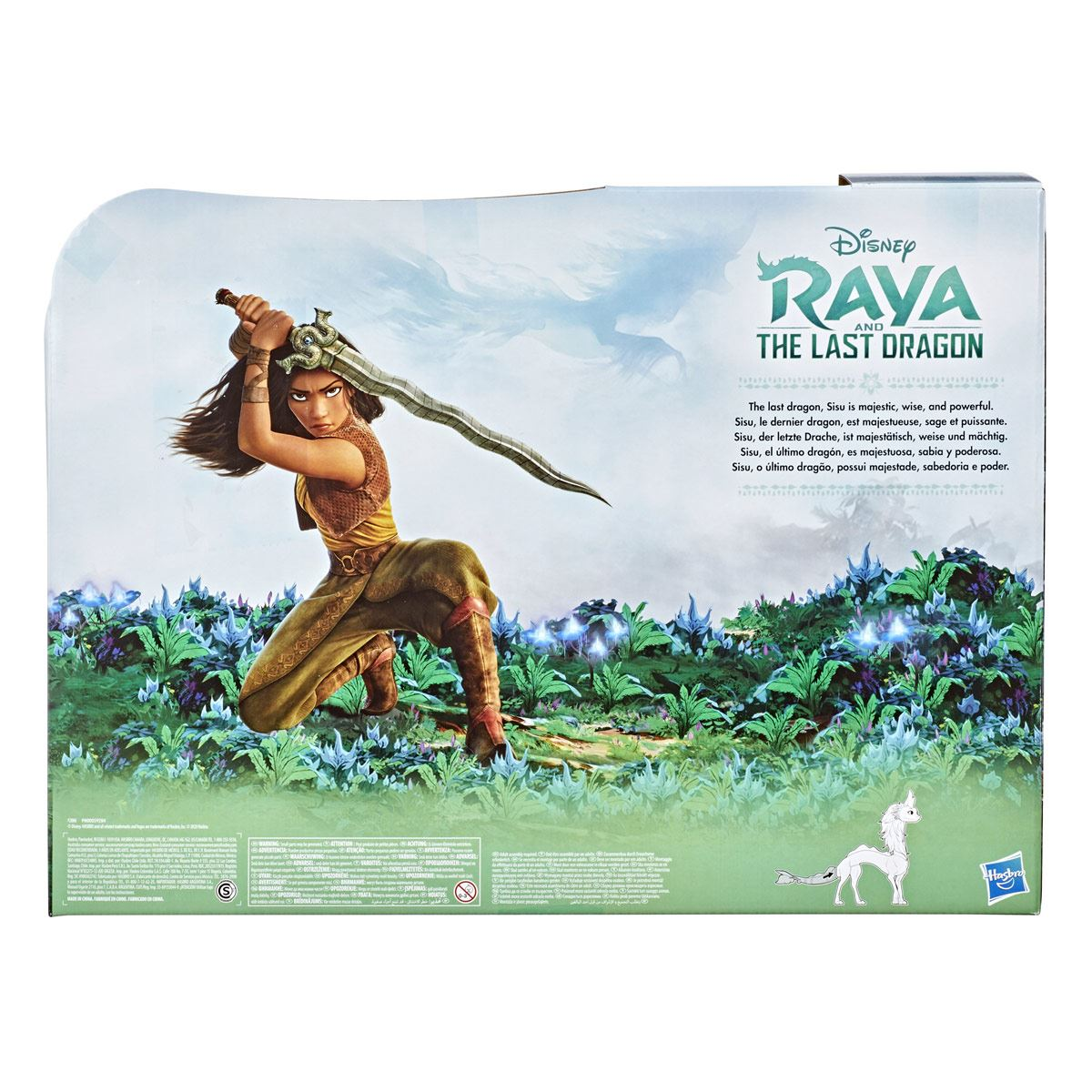 Raya and the Last Dragon Raya de Disney - Figura de la dragona Sisu