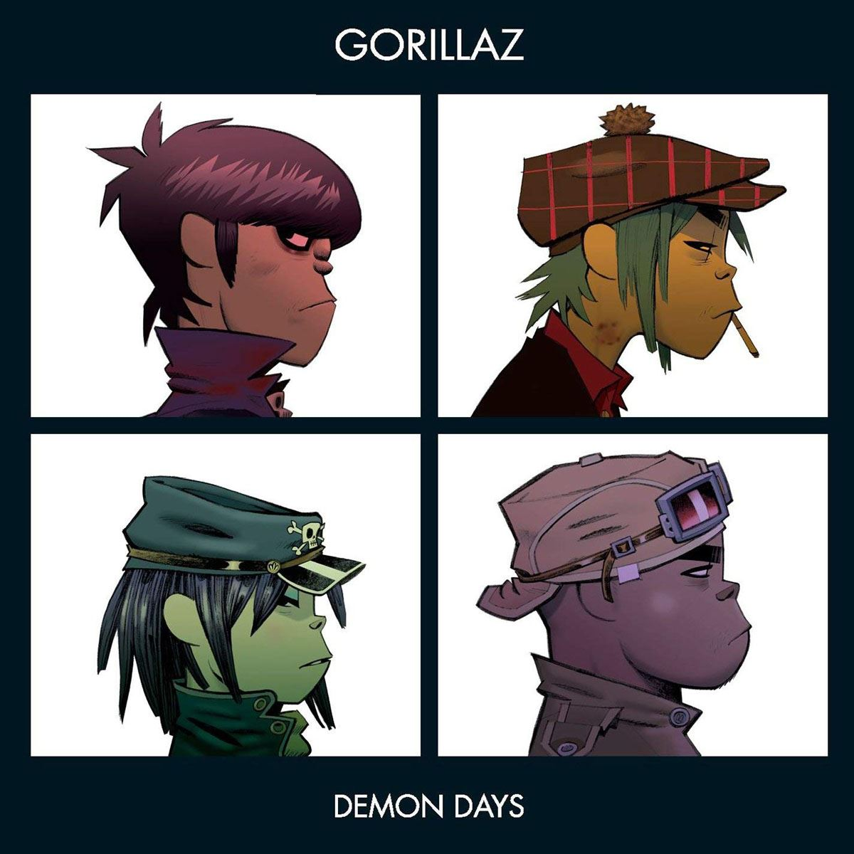CD Gorillaz-Demon Days
