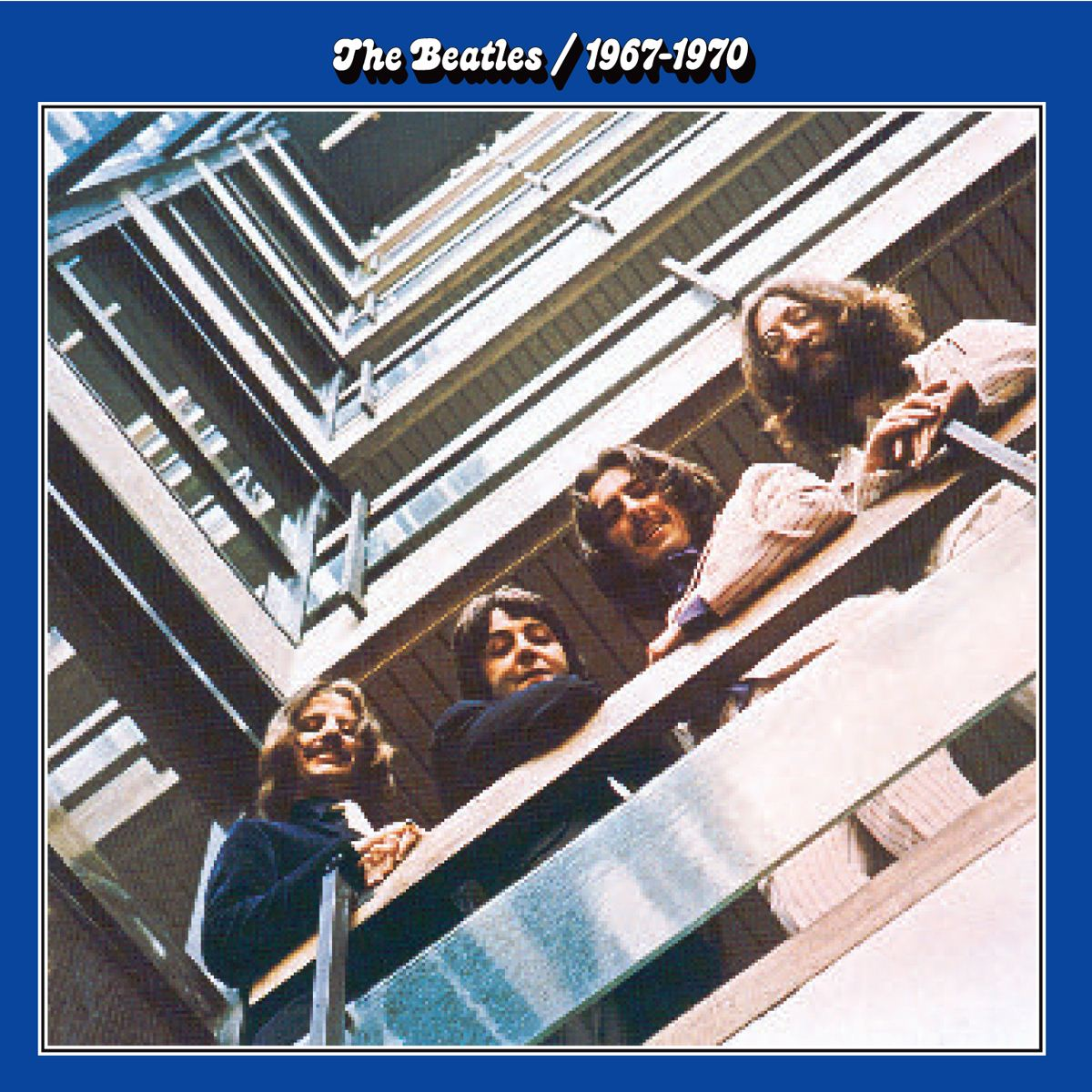 CD The Beatles- 1967-1970 Azúl