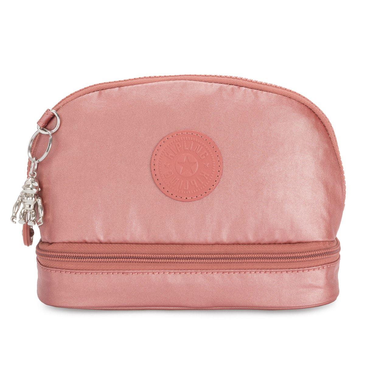 Cosmetiquera Multi Keeper Rosa Metálico Kipling