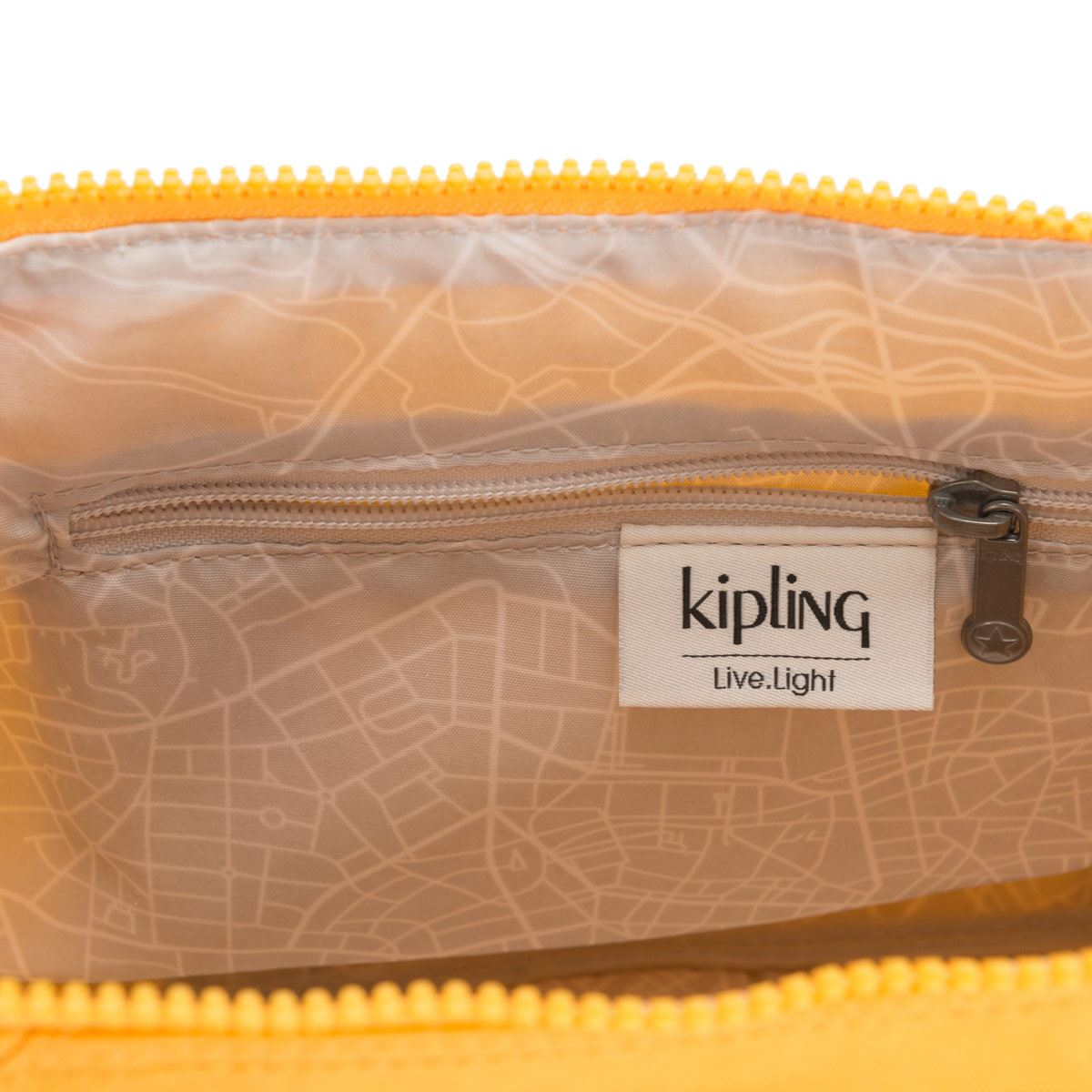 Bolso Tote Kipling  Art Mini Vivid Yellow