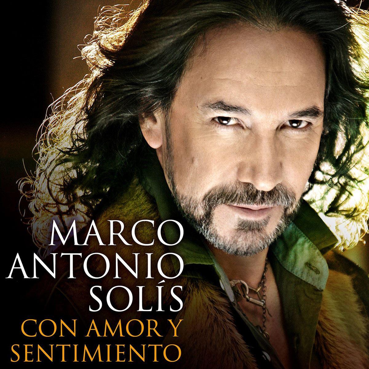 CD2 Marco Antonio Solís - Con Amor Y Sentimiento