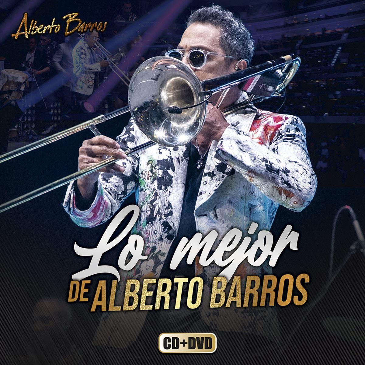 CD+DVD Alberto Barros - Lo Mejor de Alberto Barros