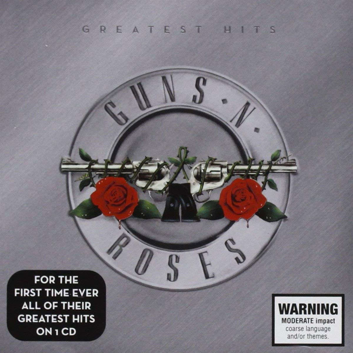CD Guns N' Roses - Greatest Hits (Jewel Case)