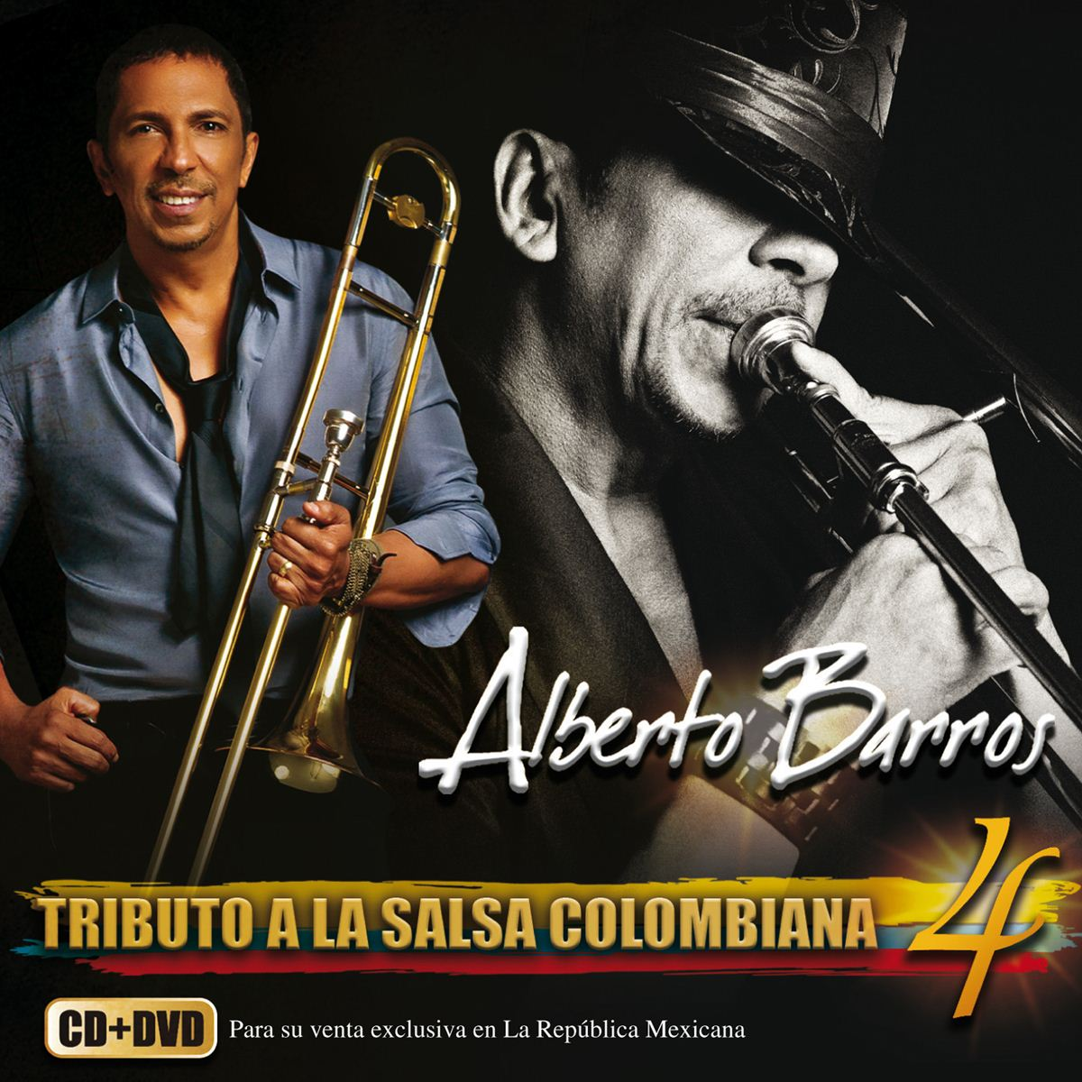 4Cd/Dvd Alberto Barros-Tributo A La Salsa Colombiana