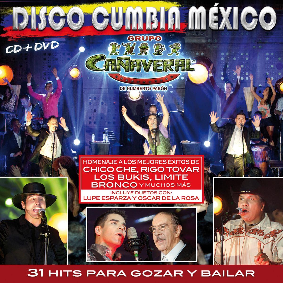 Cd/dvd grupo cañaveral-disco cumbia méxico  - Sanborns