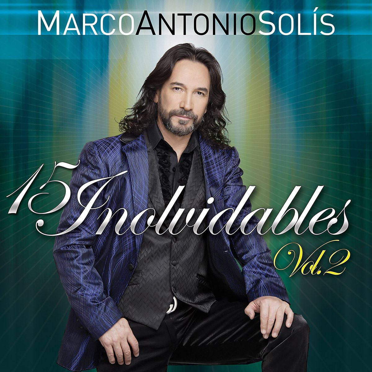 Cd marco antonio solis 15 inolvidables vol. 2  - Sanborns