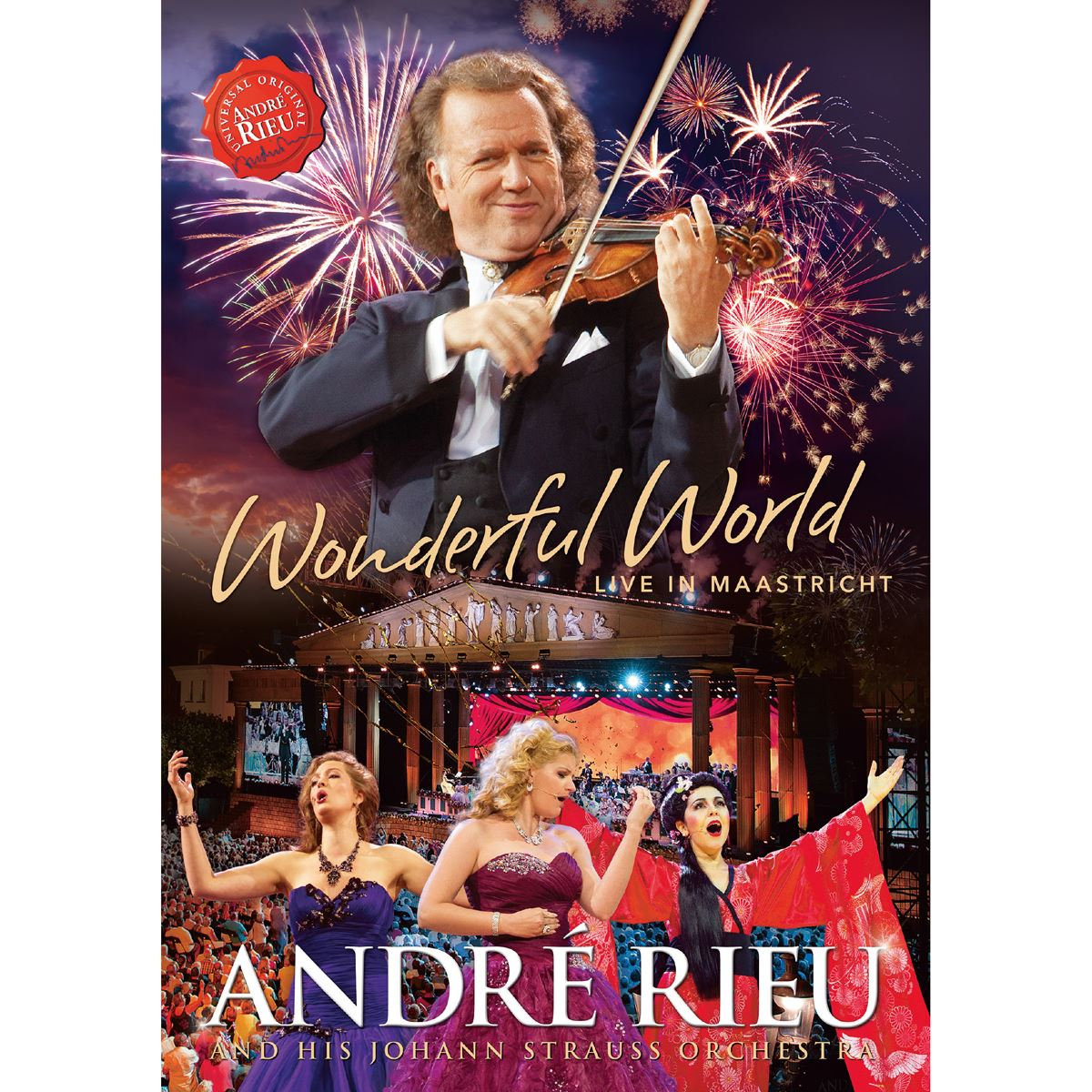 Dvd andré rieu-wonderful world  - Sanborns