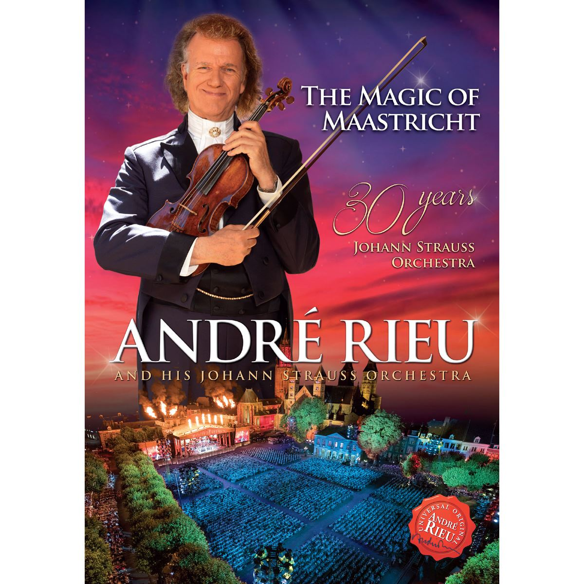 Dvd the magic of maastricht - 30 years of the johann strauss orchestra  - Sanborns