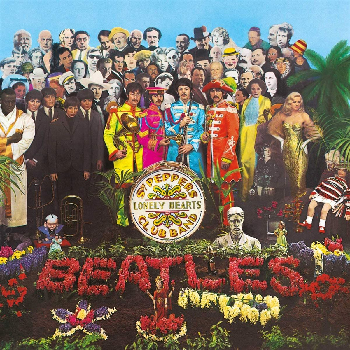 LP - The Beatles - Sgt. Pepper's Lonely Hearts Club Band (2017 Stereo)