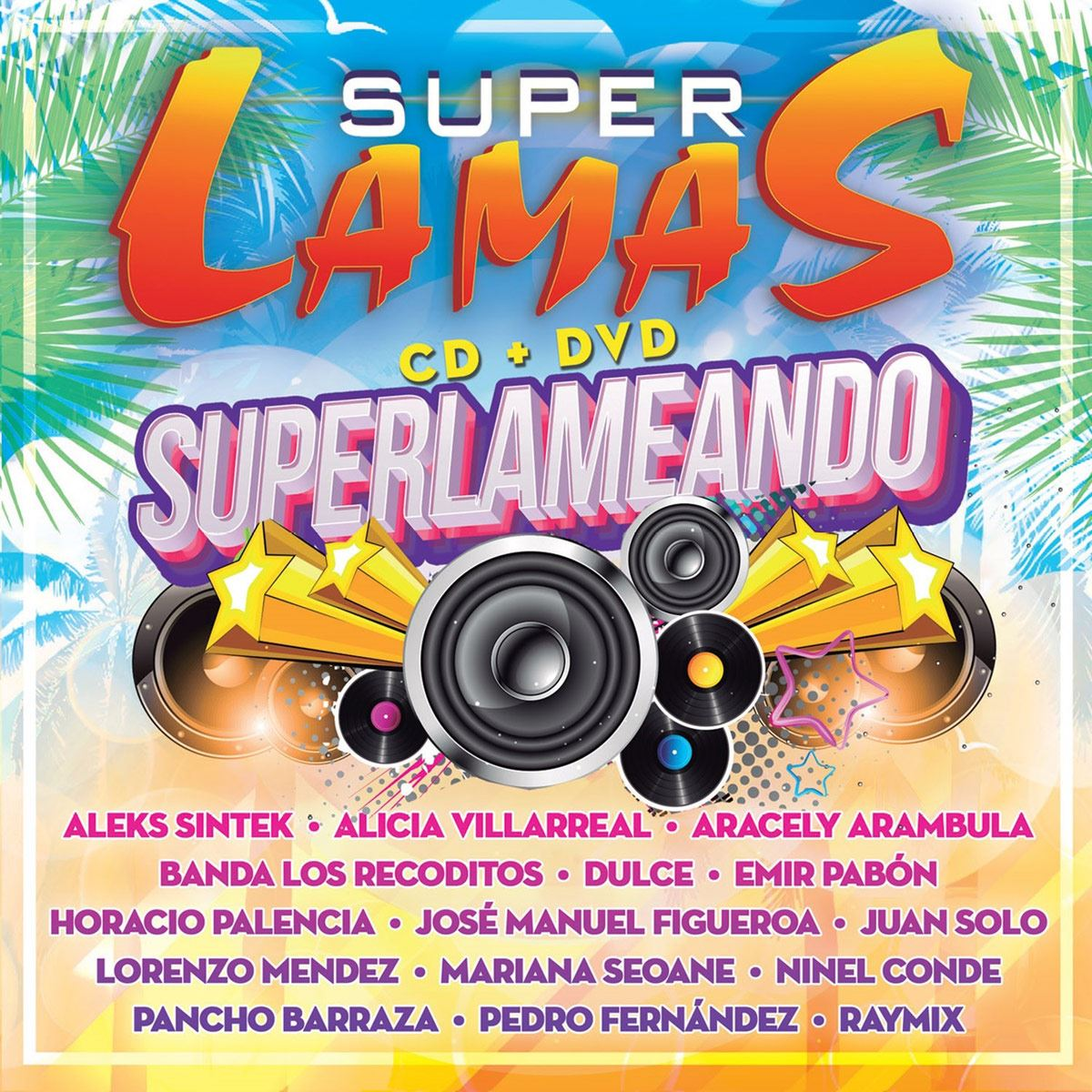 CD+ DVD Super Lamas- Superlameando