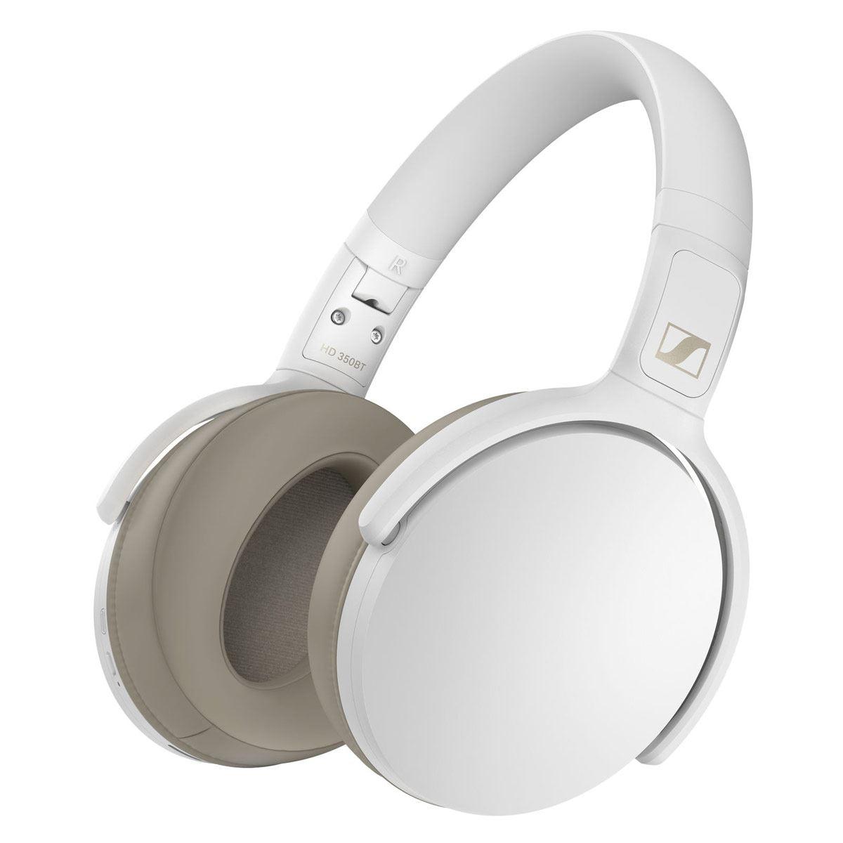 Audífonos Sennheiser HD 350 Bluetooth Blancos