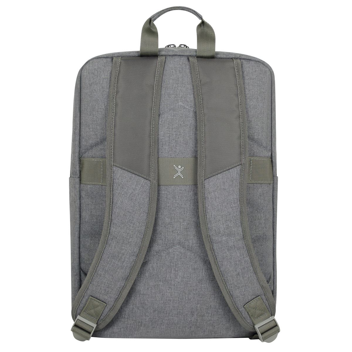 "Mochila Portalaptop 15"" Slim Block Gris Perfect Choice"