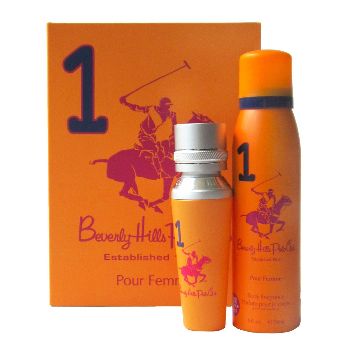 Fragancia Para Dama Beverly Hills Polo Club Womens Gift Set One