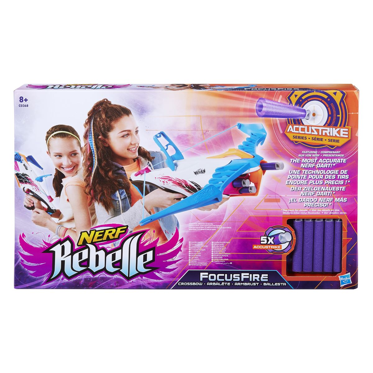 Nerf rebelle focus fire  - Sanborns