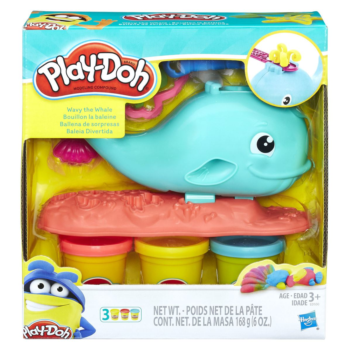 Ballena Divertida Play-Doh