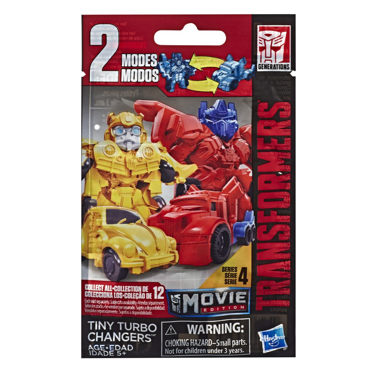 Bling Bag Tiny Turbo Changers Movie Edition Transformers: Bumblebee