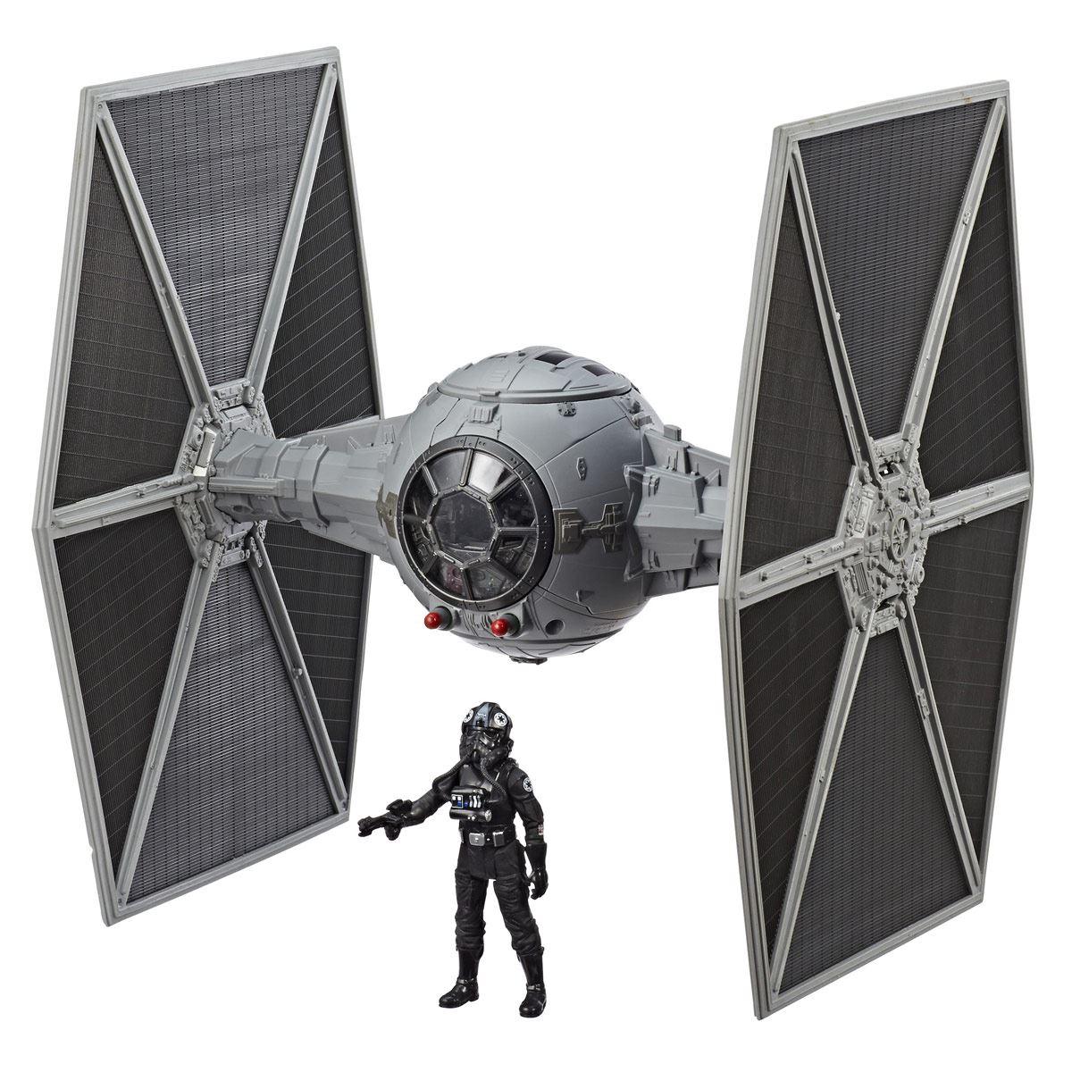Figura tie fighter pilot y tie fighter force link 2.0 star wars  - Sanborns