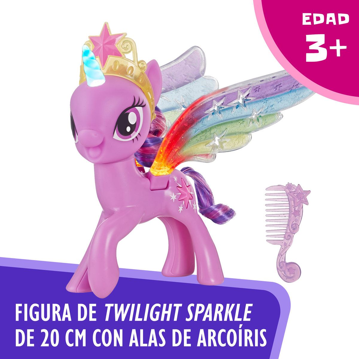 Twilight Sparkle Alas de Arcoíris My Little Pony