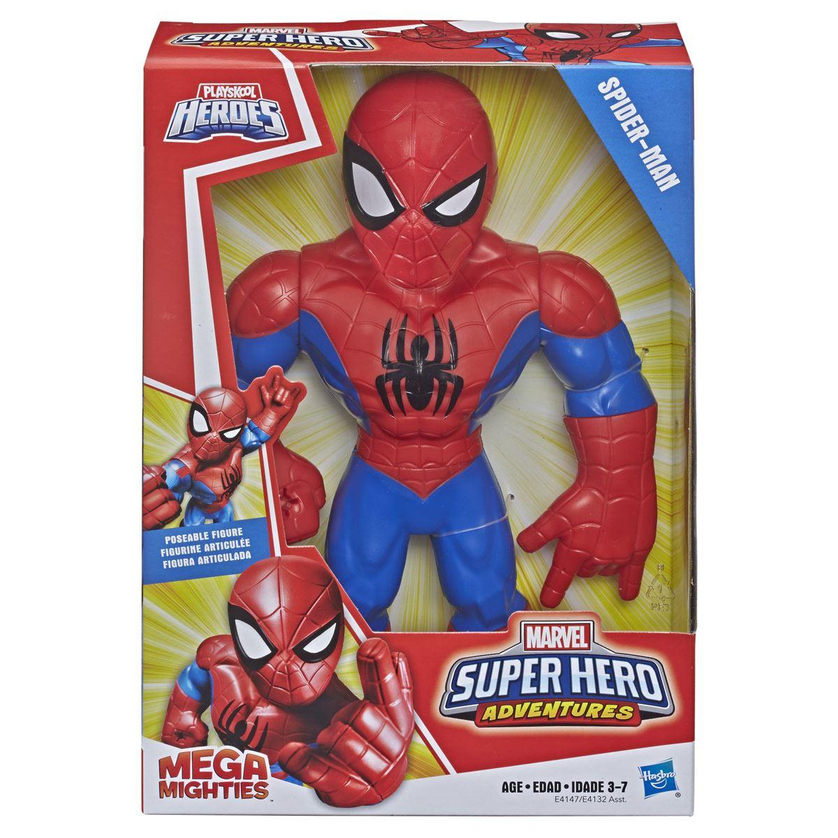 Figura Spider-Man Mega Mighties Playskool Heroes
