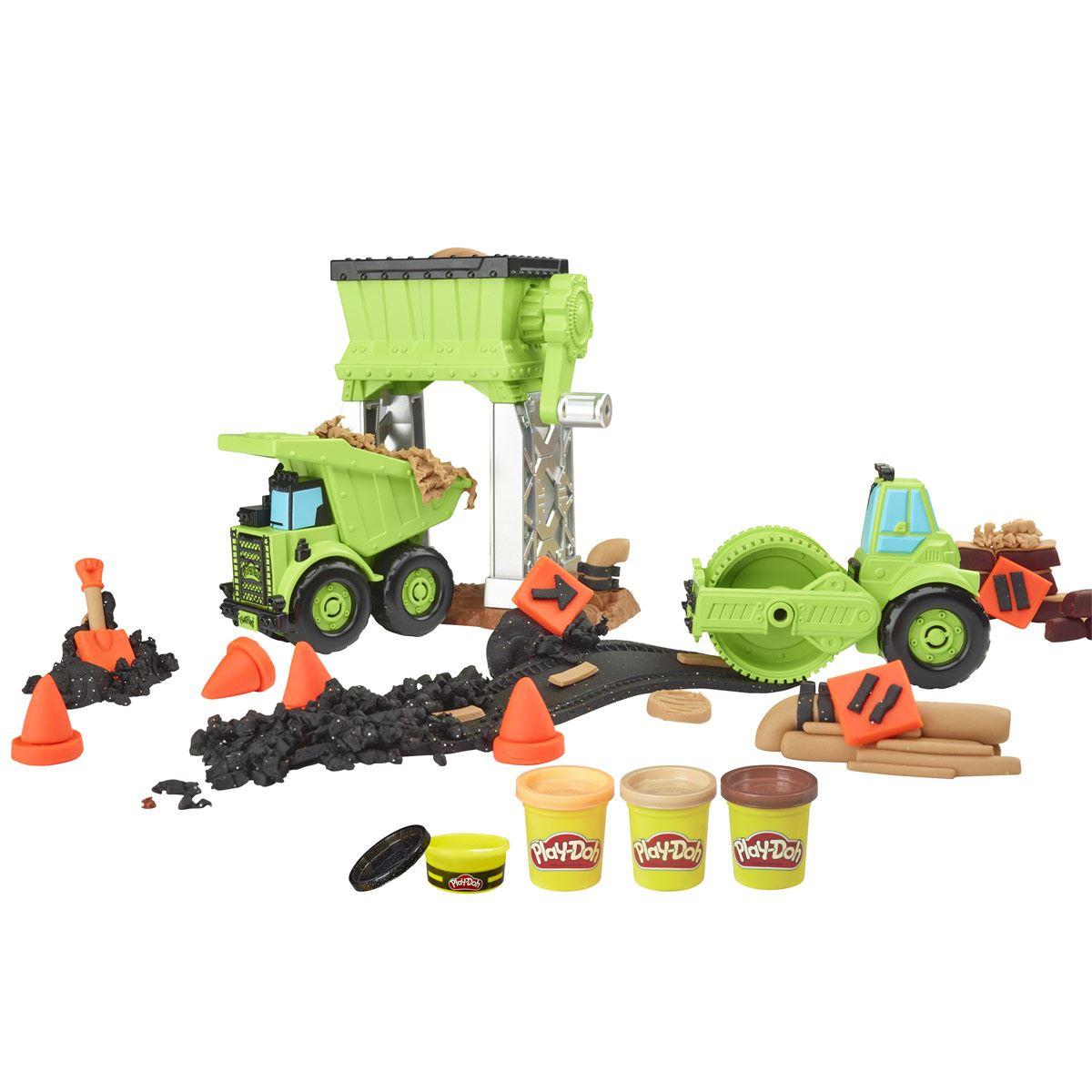 Juguete de construcción  Grava y Pavimento Play-Doh Wheels