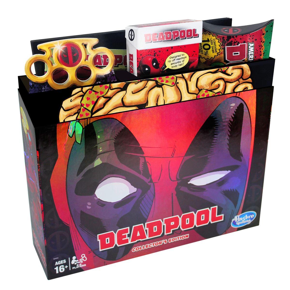 Juego Monopoly Edición de Colección Marvel Deadpool