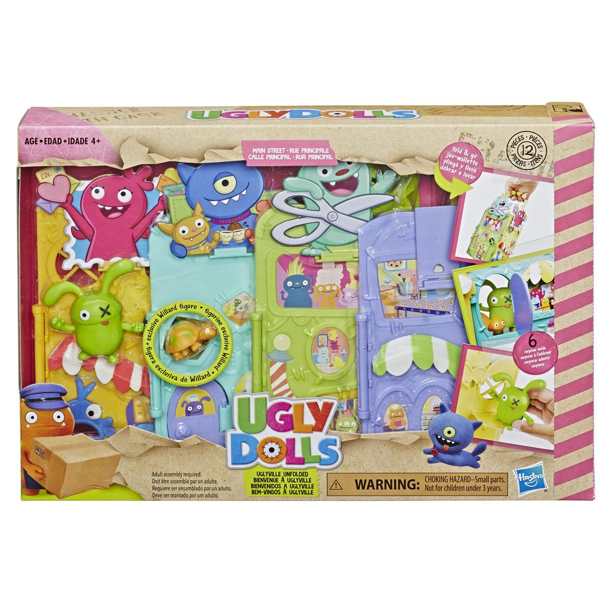 Set Portátil Villafea Ugly Doll