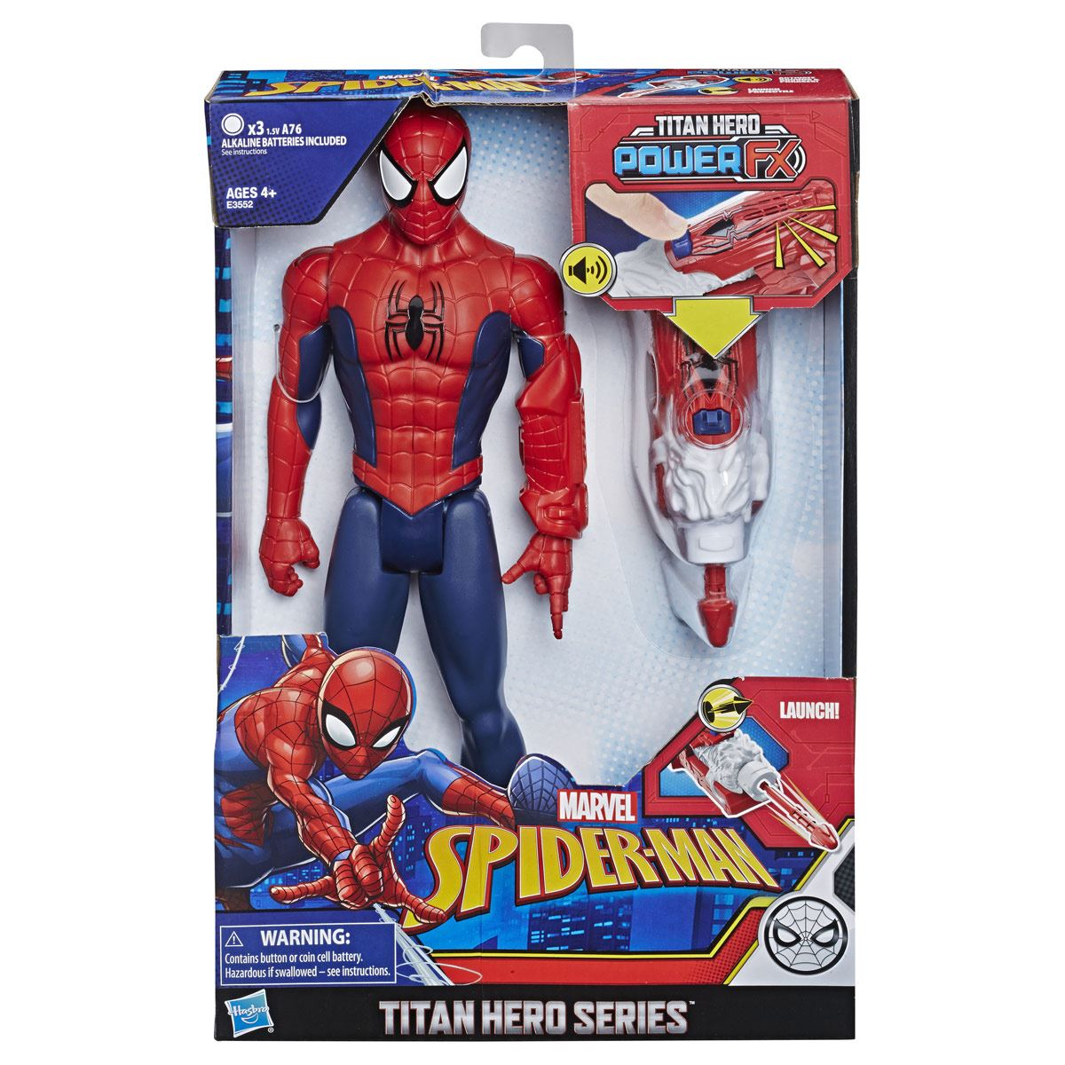 Figura Spider-Man Titan Hero Power FX Marvel