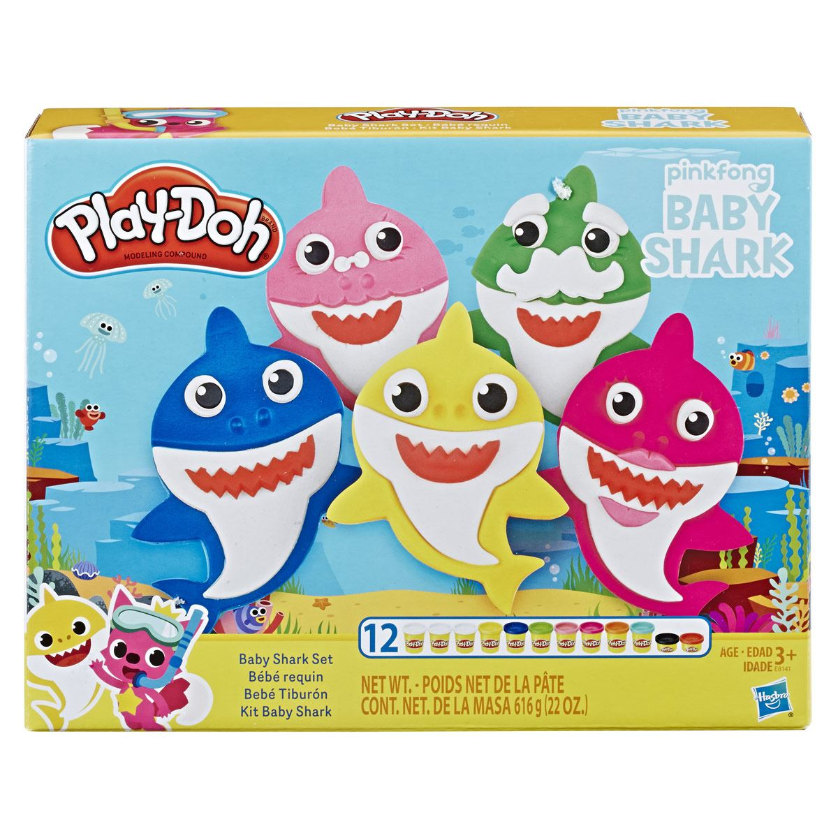 Set Baby Shark Play-Doh