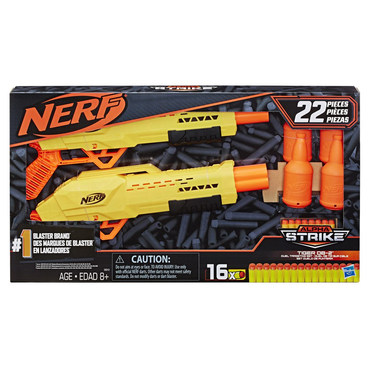 Lanzadores Alpha Strike Nerf