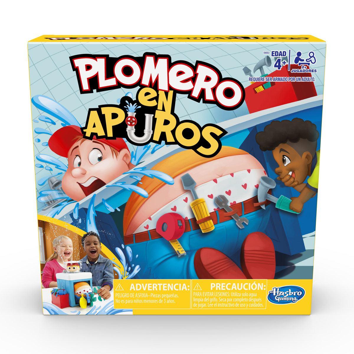 Juego de Mesa Plomero en Apuros Hasbro Gaming