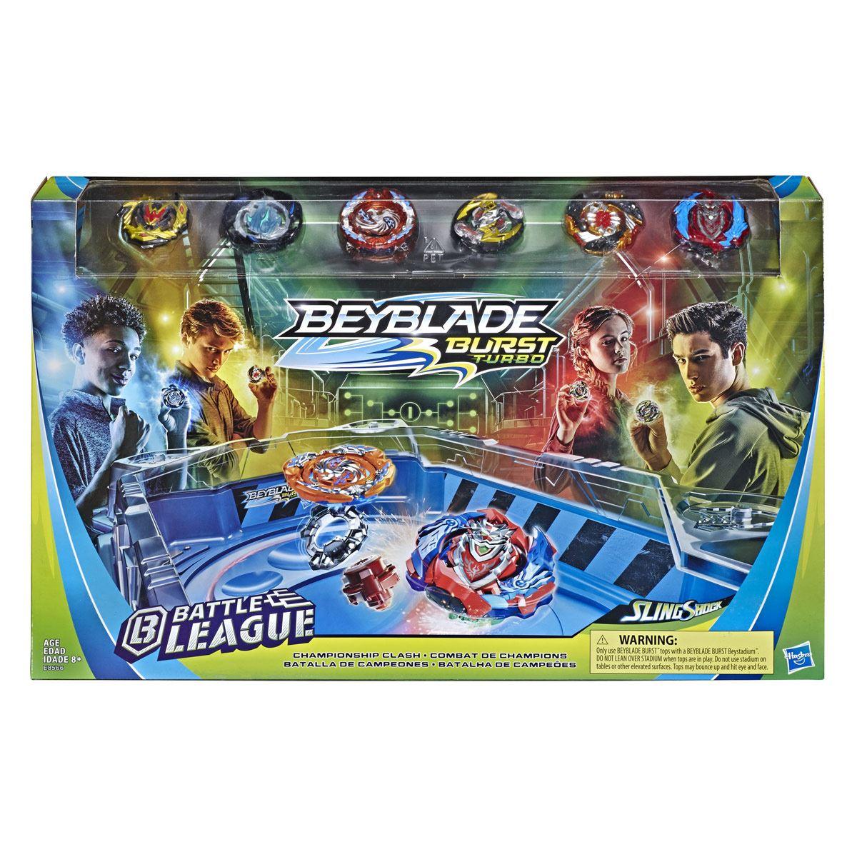 Beyblade Burst Turbo- Set Battle League Batalla de Campeones