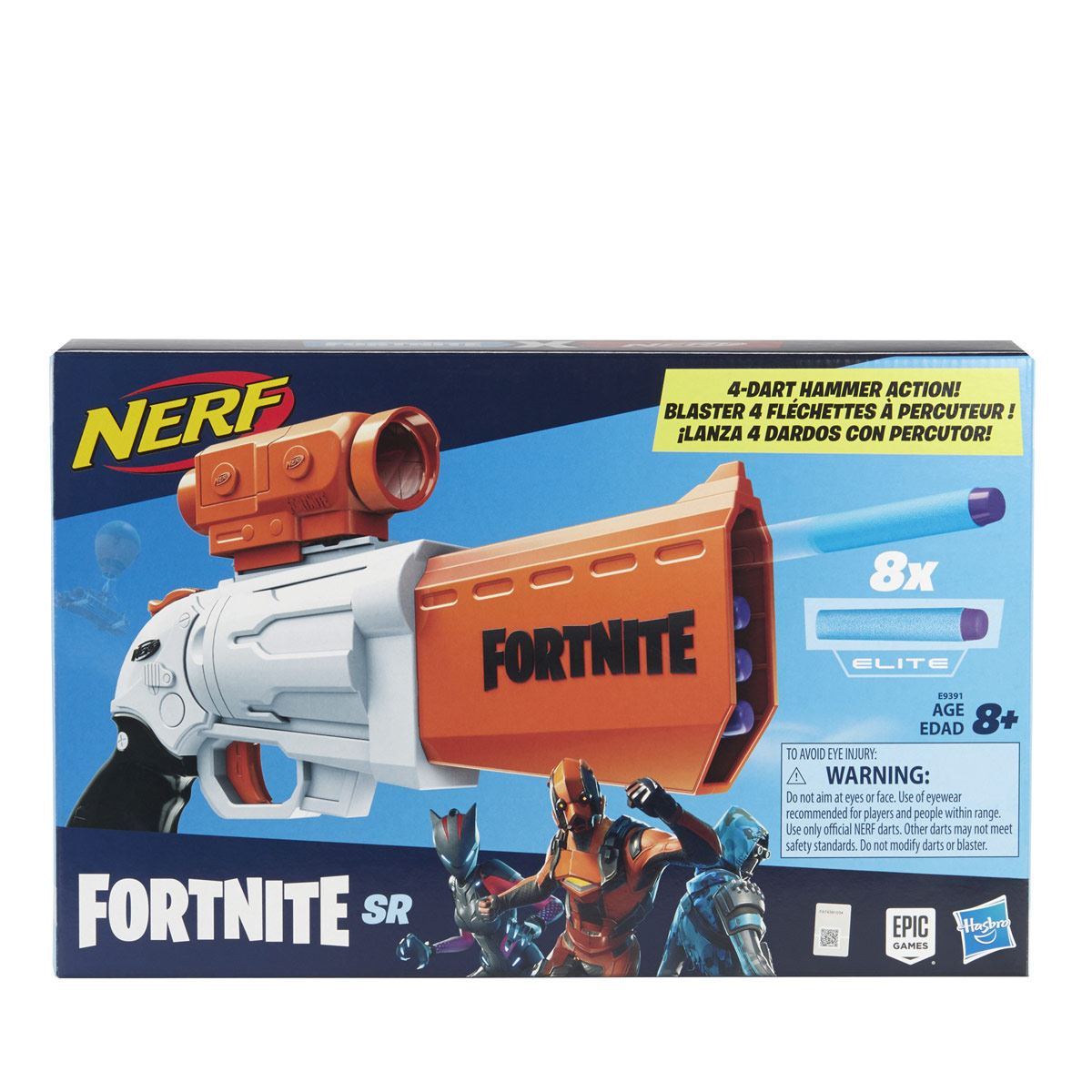 Nerf Fortnite Lanzador SR