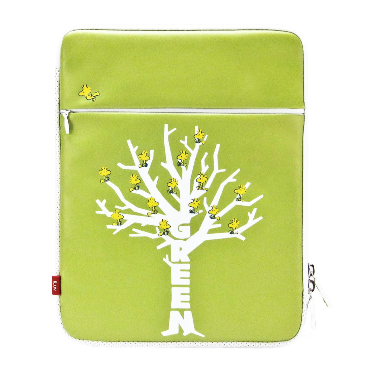Funda iluv para ipad folio green snoopy  - Sanborns